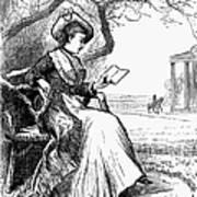 Woman Reading, 1876 Art Print