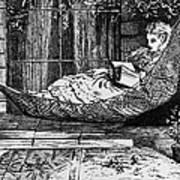 Woman Reading, C1873 Art Print