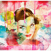 Woman's Soul Prelude Art Print