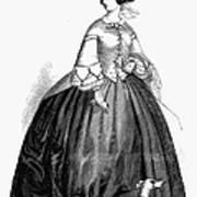 Womens Fashion, 1857 Art Print