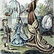 Womens Fashion, 1877 Art Print