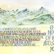 Wonder Splendor II Art Print