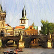 Wonderful Prague Art Print