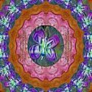 Wonderful Rose Petal Art Art Print