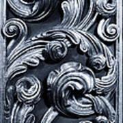 Wood Carving Patterns Art Print