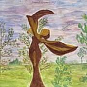 Wooden Femme Art Print