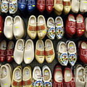 Wooden Shoes Art Print by Ed Rooney