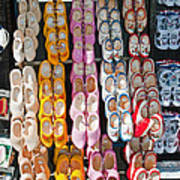 Wooden Shoes  Print by Jim Chamberlain