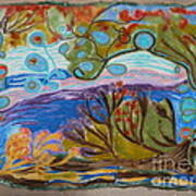 Woolscape Art Print