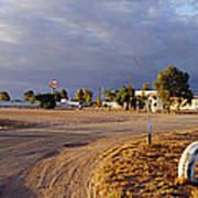 Wooramel Roadhouse In Australia Print by Jeremy Woodhouse