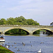 Workman Bridge And The River Avon Art Print