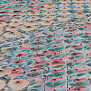 World Of Umbrellas Art Print