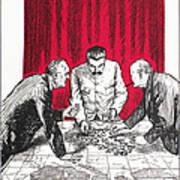 World War II: Cartoon Art Print
