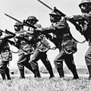 World War II: Training Art Print