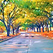 Wortham Blvd Houston Art Print