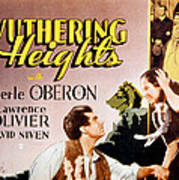 Wuthering Heights, Laurence Olivier Art Print by Everett