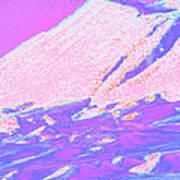 Wyoming Mountains 4-2 Art Print