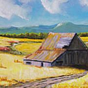 Wyoming Valley Art Print