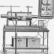 X-ray Machine Art Print