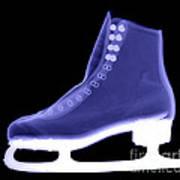 X-ray Of An Ice Skate Art Print