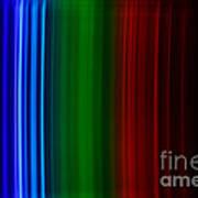 Xenon Spectra Art Print