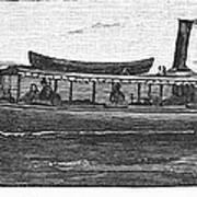 Yacht, 1882 Art Print