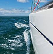 Yacht Lines Art Print