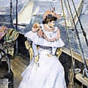 Yachting Costume, 1894 Art Print