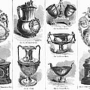 Yachting Trophies, 1871 Art Print