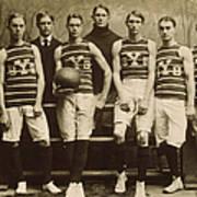 Yale Basketball Team, 1901 Print by Granger