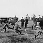 Yale: Football Practice Art Print