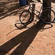 Yalva Sanga Bicycle Art Print
