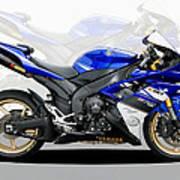 Yamaha R1 Art Print
