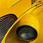 Yellow - D001178 Art Print