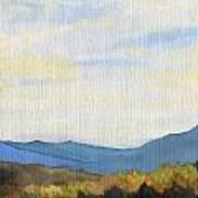Yellow Ridge Art Print