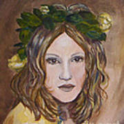 Yellow Rose I I Art Print