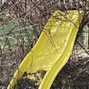 Yellow Slide Art Print