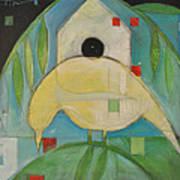 Yellowbird Whitehouse Art Print