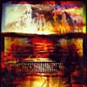 Yellowstone Hell (billirubin Remix) Art Print by Artemis Sere