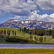 Yellowstone National Park Art Print