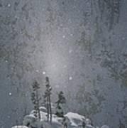 Yellowstone National Park, Winter View Art Print