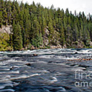 Yellowstone River Art Print