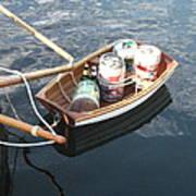 Yo Ho Ho And A Skiff Full Of Beer Art Print