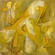 Yo Yo Gold Art Print