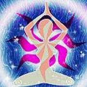 Yoga Energy Art Print