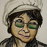 Yoko Art Print by Pete Maier