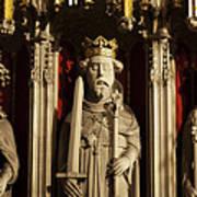 York Minster's Choir Screen Art Print