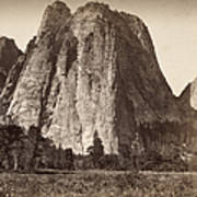 Yosemite: Cathedral Rock Art Print