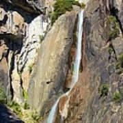 Yosemite Falls Rainbow Art Print