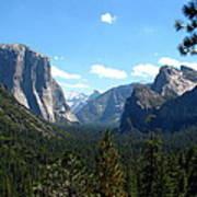 Yosemite Panorama Art Print